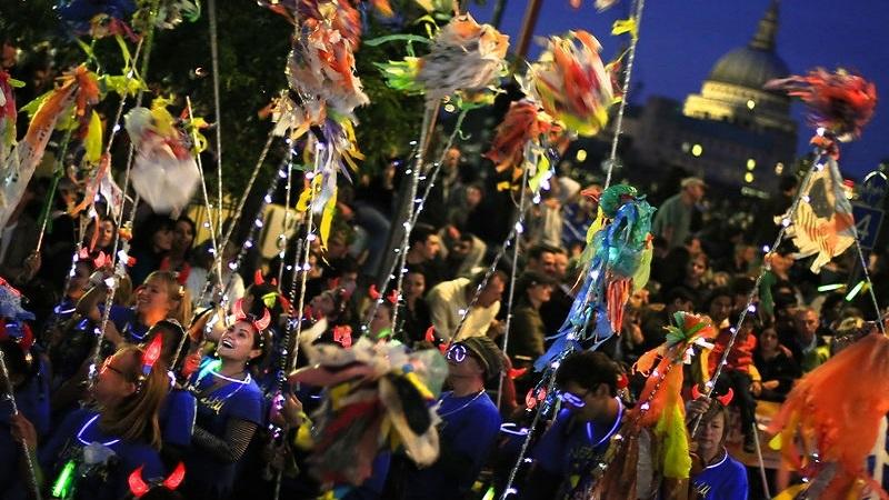 泰晤士河文化节