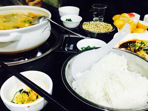 黔府豆米火锅野菜馆(南马店)旅游景点图片
