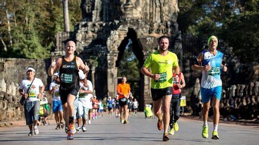 吴哥窟国际马拉松赛