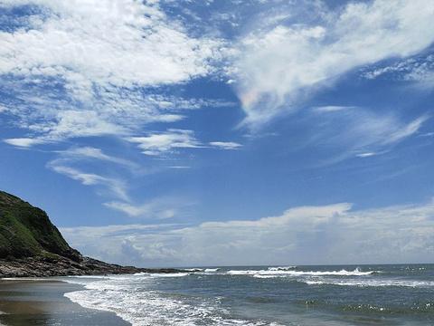 盐洲岛杨屋村海滩旅游景点图片