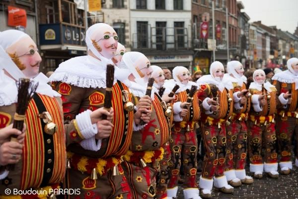 班什狂欢节Carnival of Binche