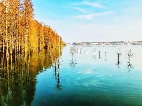 大泉湖旅游景点图片