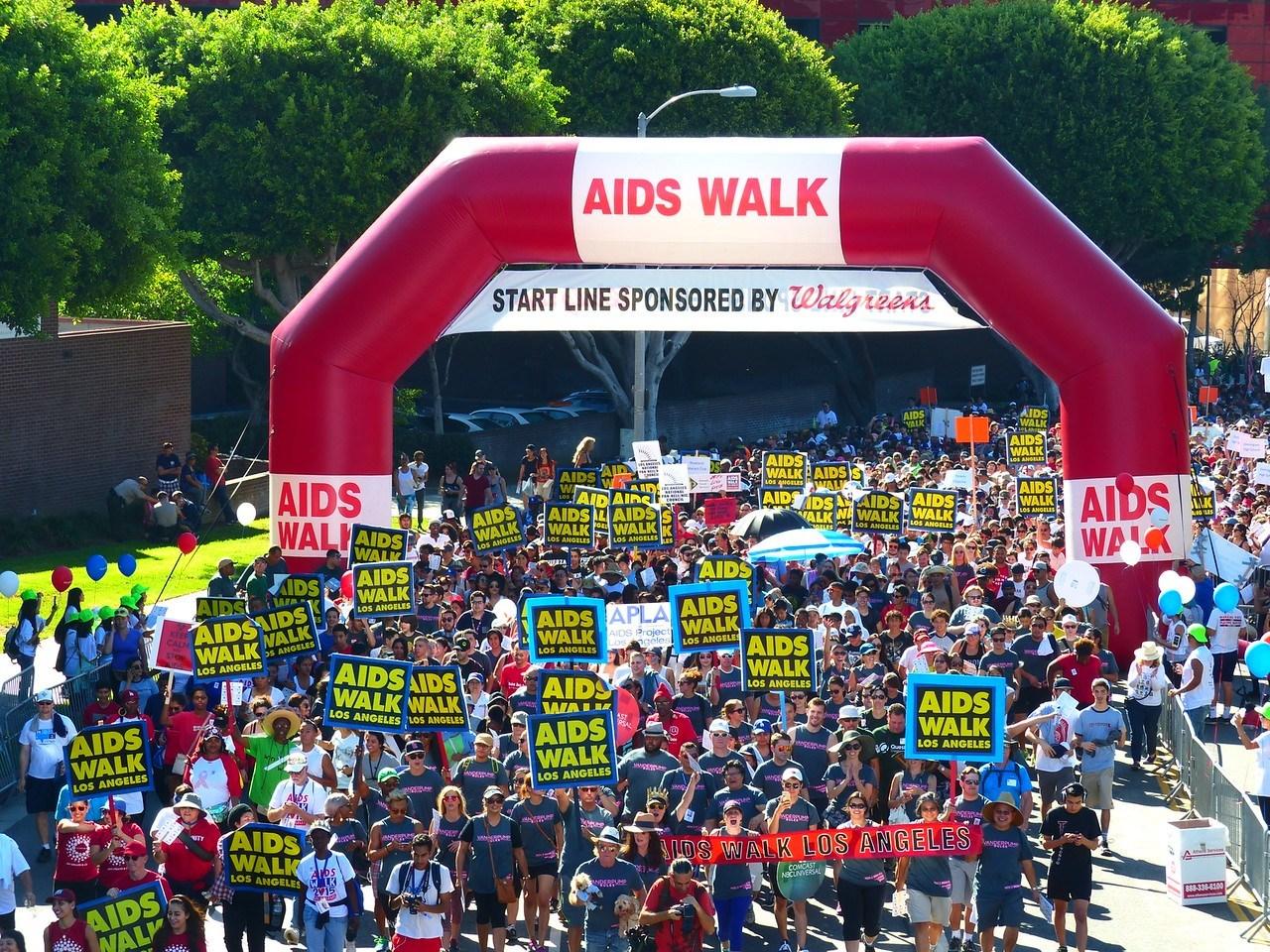 洛杉矶艾滋徒步