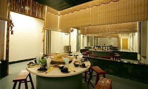 且亭山水酒店餐厅的图片