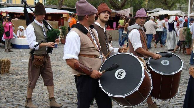 十八世纪Queluz市场