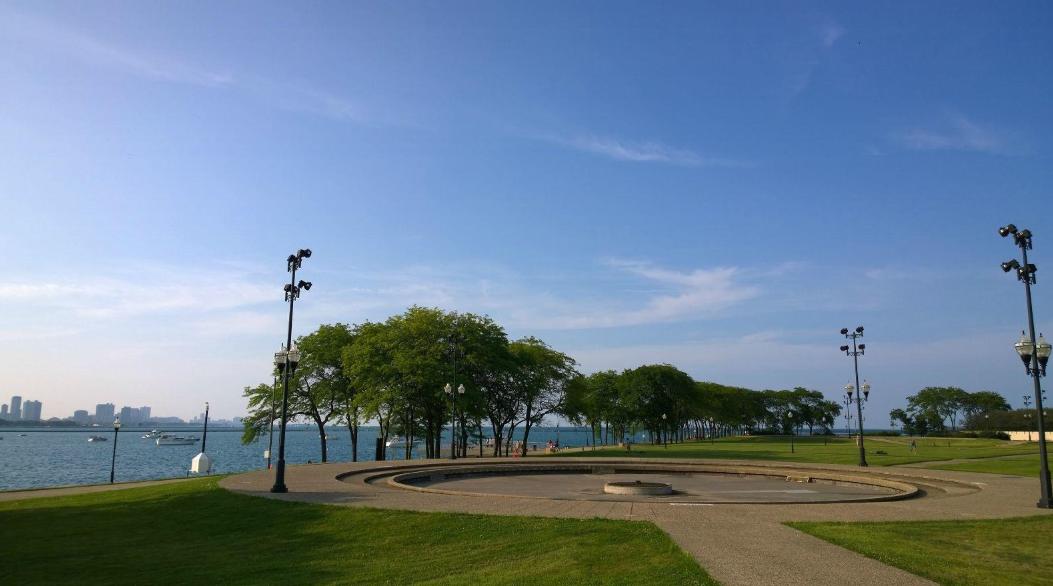 惬意温柔,芝加哥湖畔浪漫骑行