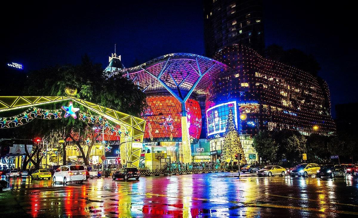 乌节圣诞大街欢
