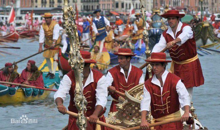 威尼斯赛船节