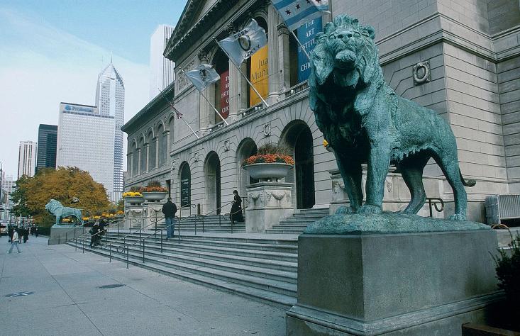 芝加哥博物馆之旅