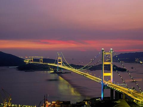 青马大桥旅游景点图片
