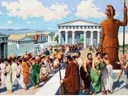 雅典娜节 Panathenaiac Festival