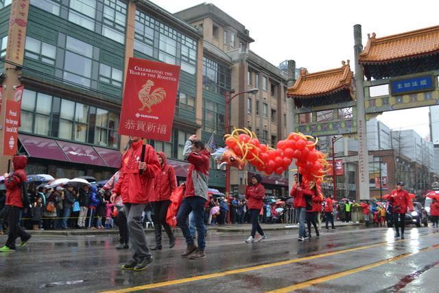 春节大游行Vancouver Chinatown Spring Festival Parade