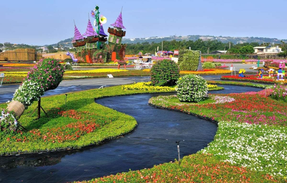 台中国际花毯节