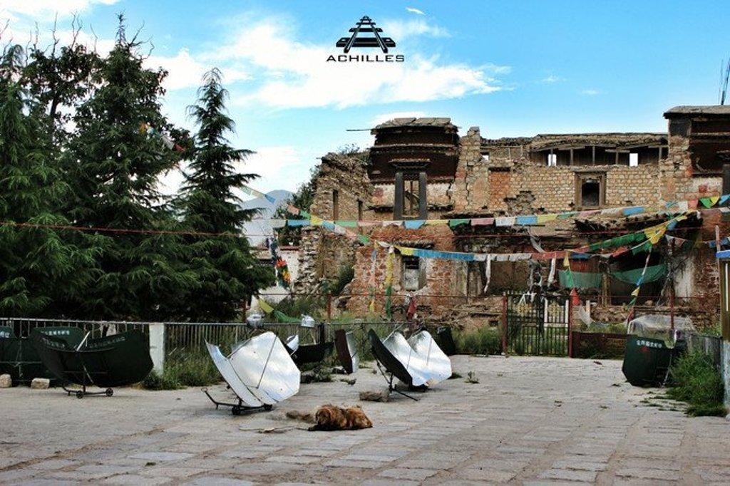 喜德林寺庙废墟