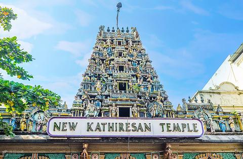 新旧印度庙的图片