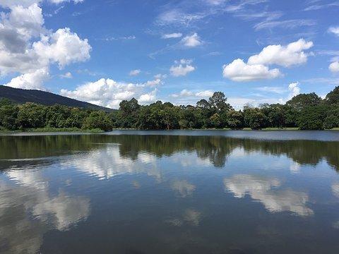清迈大学静心湖