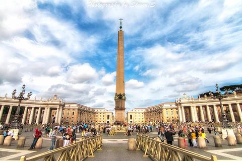 梵蒂冈方尖碑的图片