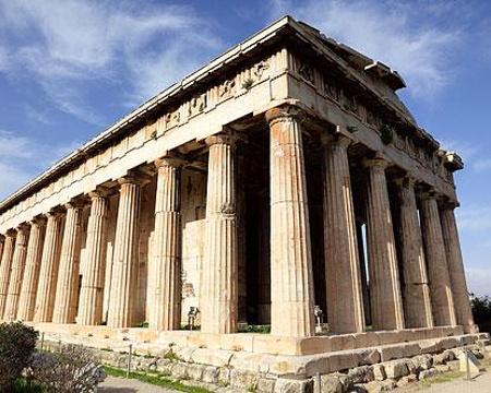 赫菲斯托斯神庙的图片