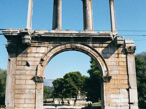 哈德良拱门旅游景点图片