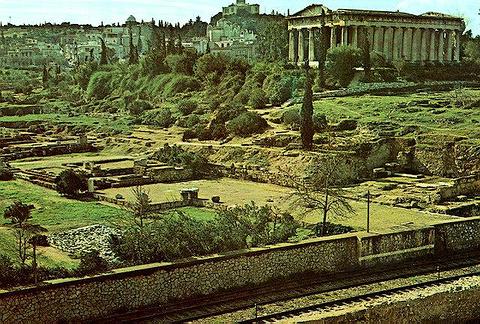 宙斯柱廊的图片