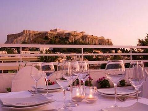 雅典卫城观光餐厅旅游景点图片