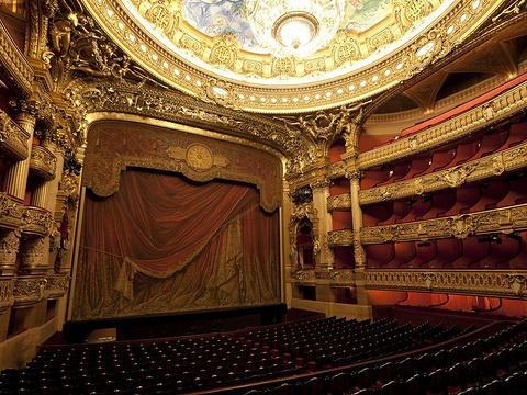 巴黎歌剧院旅游景点图片