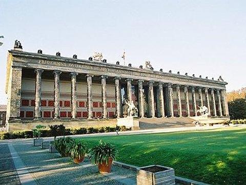 柏林旧博物馆旅游景点图片