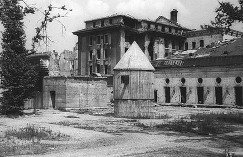 希特勒的地堡
