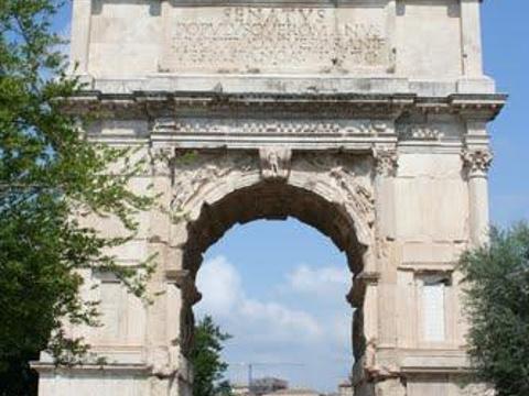 提图斯凯旋门旅游景点图片