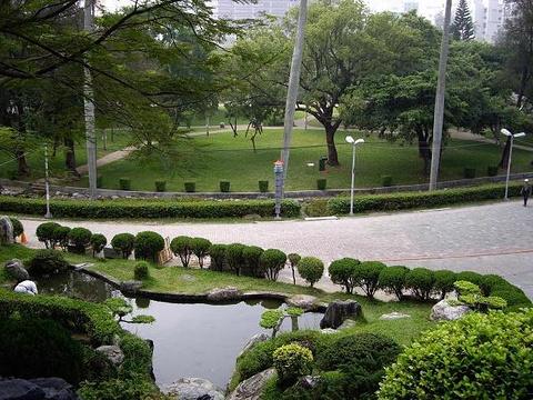台中公园旅游景点图片