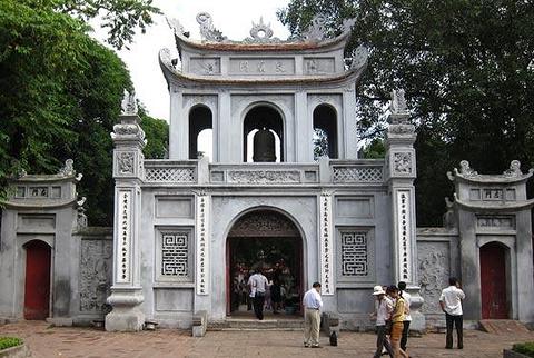 河内文庙的图片
