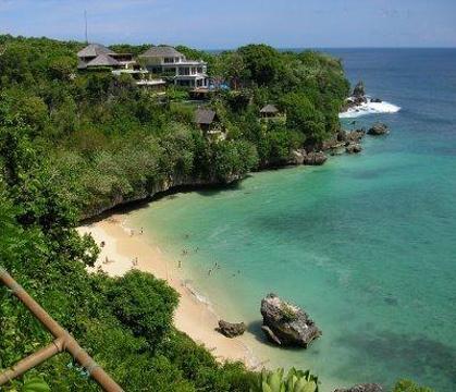Padang Padang 海滩的图片