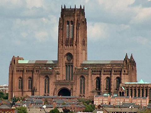 利物浦大教堂旅游景点图片