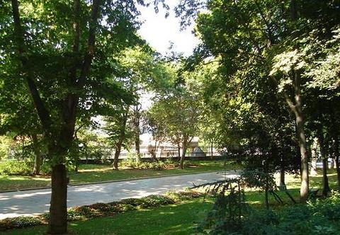 玫瑰园公园