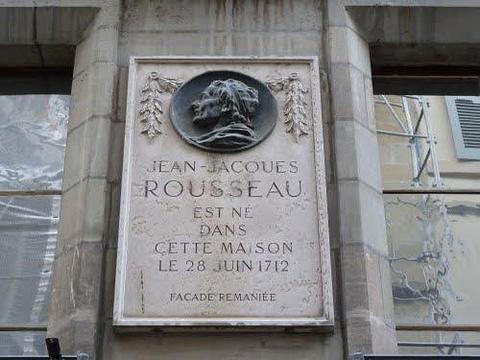 卢梭故居旅游景点图片