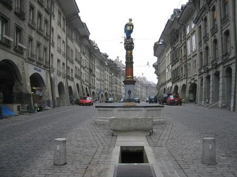 伯尔尼老城区旅游景点图片