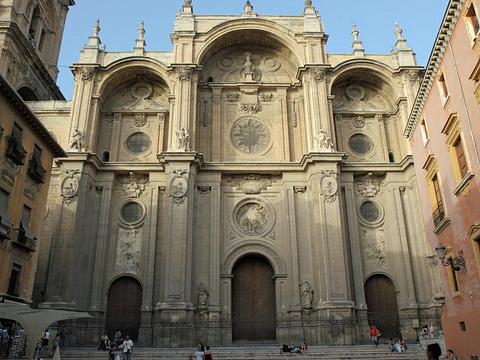格拉纳达大教堂旅游景点图片