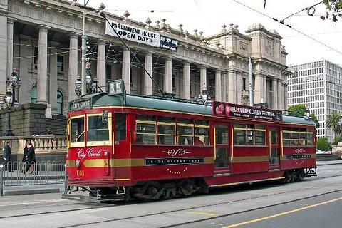 老式环城有轨电车