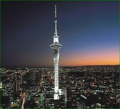 天空塔旅游景点图片