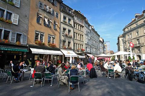 日内瓦旧城区的图片