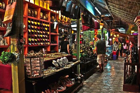 吴哥夜市的图片