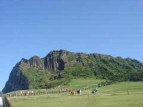 城山日出峰旅游景点图片