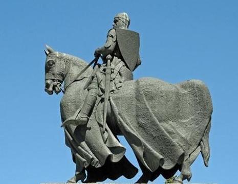 Robert the Bruce statue的图片