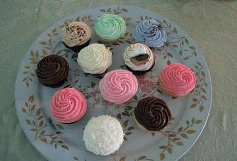 渴望曲奇和蛋糕甜品店