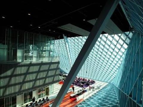 西雅图中央图书馆旅游景点图片