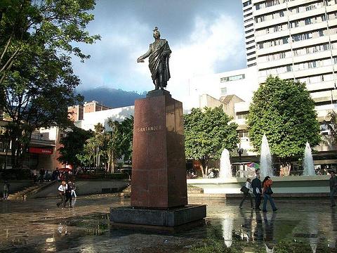 桑坦德广场旅游景点图片