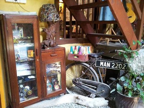虾脊兰艺术咖啡馆旅游景点图片