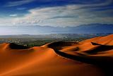 吐鲁番库木塔格沙漠风景区
