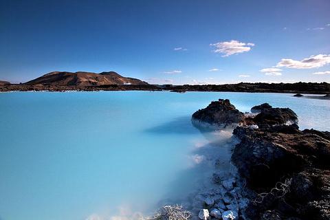 冰岛蓝泻湖的图片