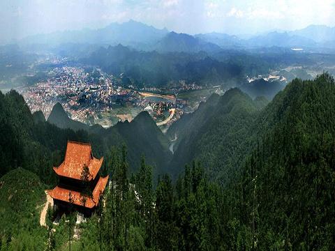 五尖山国家森林公园旅游景点图片